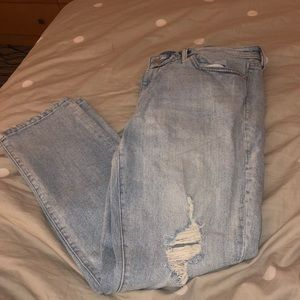Gap light wash jeans